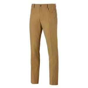 NWT Men's Puma Jackpot 5 Pocket Golf Pants 36/32